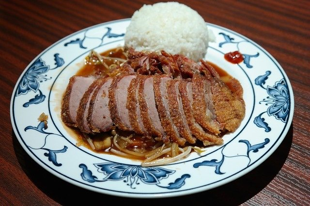 chinese lunch roast duck