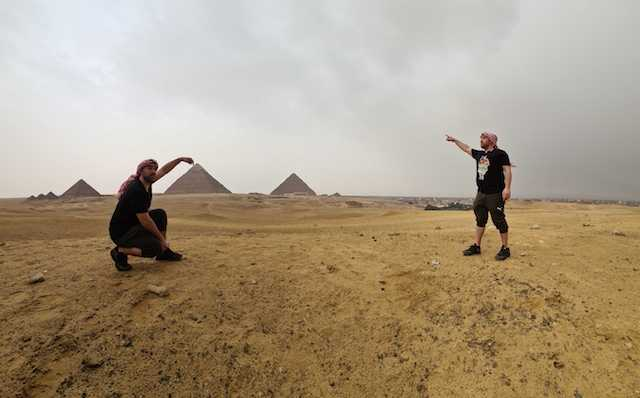 collin abroadcast egypt travel pyramids