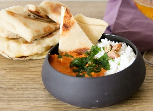 butter chicken india food