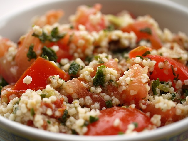 couscous dish with vegetables is popular in casablanca morocco