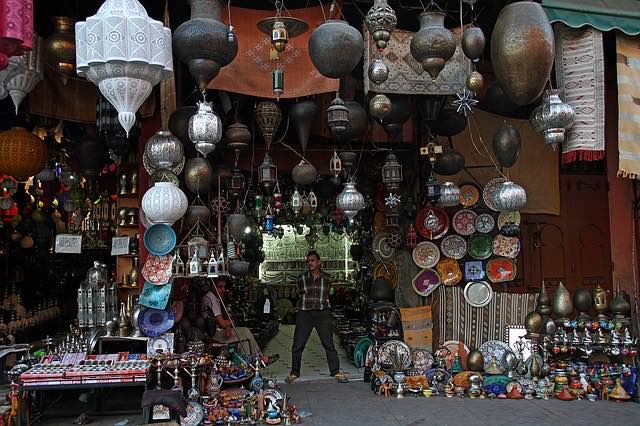lamps for sale in marrakesh morocco